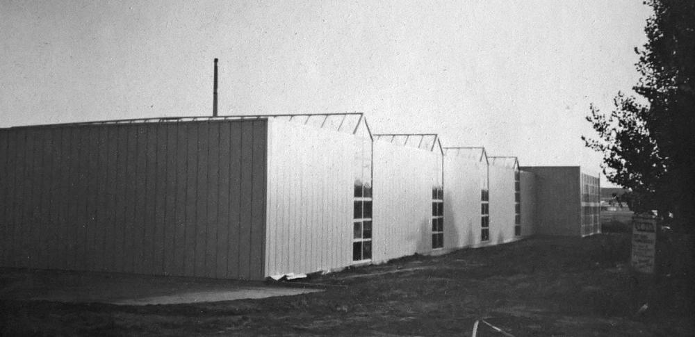 Neubau am heutigen Standort