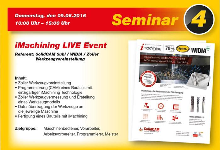 iMachining LIVE Event