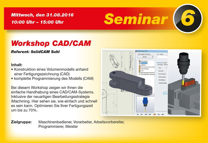 Workshop CAD CAM